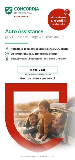 Concordia ubezpieczenie Auto Assistance